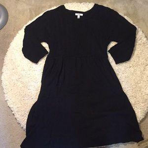 Dressbarn 14/16 thick black sweater dress